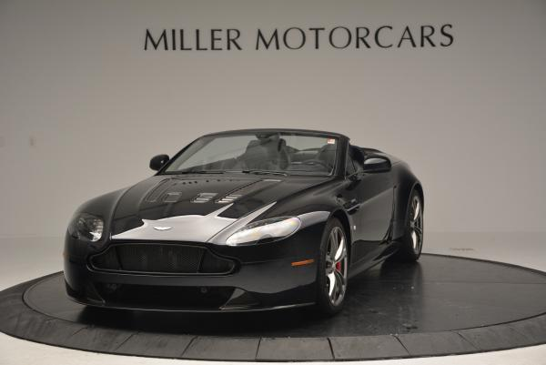 Used 2016 Aston Martin V12 Vantage S Convertible for sale $128,900 at Bugatti of Greenwich in Greenwich CT 06830 2