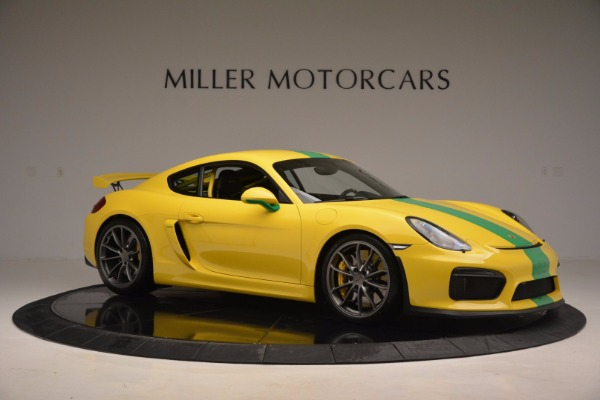 Used 2016 Porsche Cayman GT4 for sale Sold at Bugatti of Greenwich in Greenwich CT 06830 10