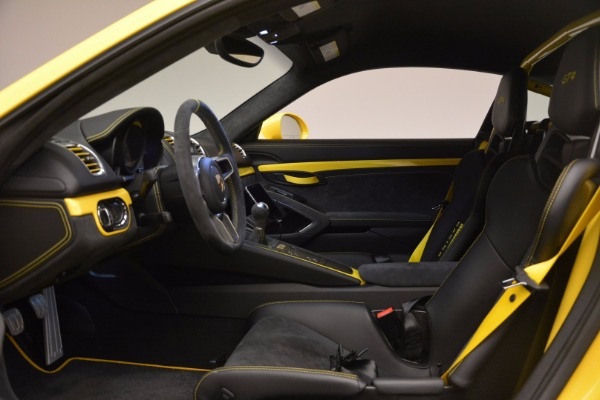 Used 2016 Porsche Cayman GT4 for sale Sold at Bugatti of Greenwich in Greenwich CT 06830 14