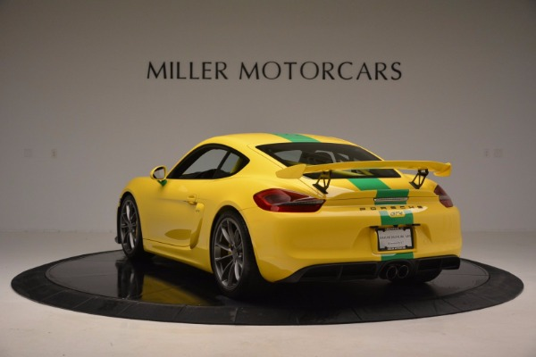 Used 2016 Porsche Cayman GT4 for sale Sold at Bugatti of Greenwich in Greenwich CT 06830 5