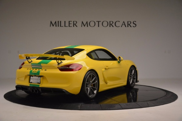 Used 2016 Porsche Cayman GT4 for sale Sold at Bugatti of Greenwich in Greenwich CT 06830 7