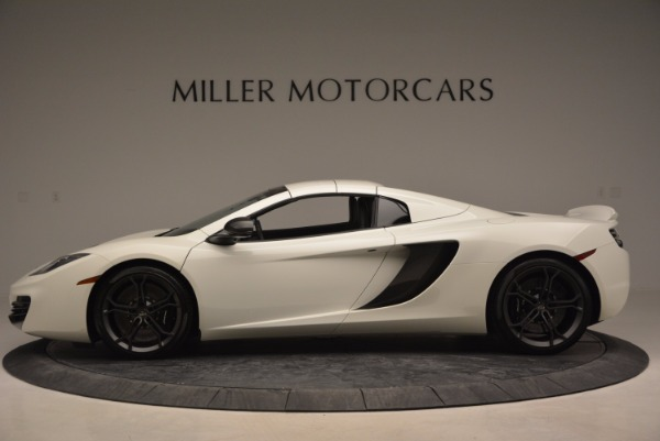 Used 2014 McLaren MP4-12C Spider for sale Sold at Bugatti of Greenwich in Greenwich CT 06830 15