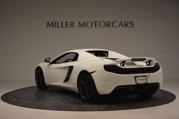 Used 2014 McLaren MP4-12C Spider for sale Sold at Bugatti of Greenwich in Greenwich CT 06830 16