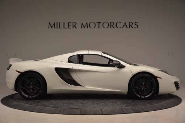 Used 2014 McLaren MP4-12C Spider for sale Sold at Bugatti of Greenwich in Greenwich CT 06830 19