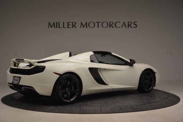 Used 2014 McLaren MP4-12C Spider for sale Sold at Bugatti of Greenwich in Greenwich CT 06830 8