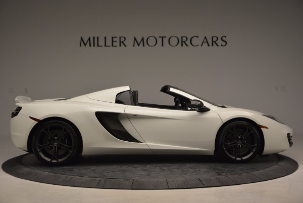Used 2014 McLaren MP4-12C Spider for sale Sold at Bugatti of Greenwich in Greenwich CT 06830 9