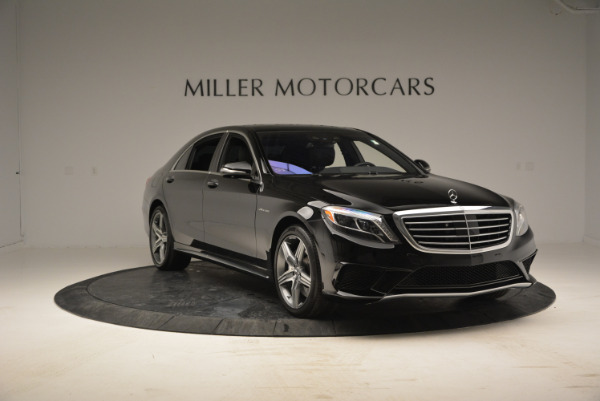 Used 2014 Mercedes Benz S-Class S 63 AMG for sale Sold at Bugatti of Greenwich in Greenwich CT 06830 11