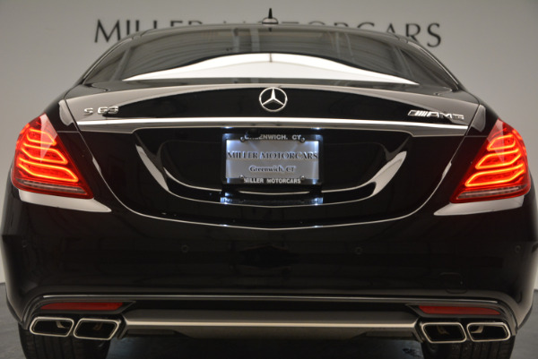 Used 2014 Mercedes Benz S-Class S 63 AMG for sale Sold at Bugatti of Greenwich in Greenwich CT 06830 15