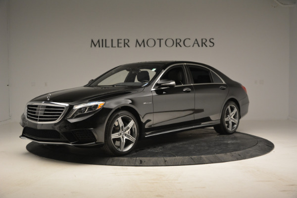Used 2014 Mercedes Benz S-Class S 63 AMG for sale Sold at Bugatti of Greenwich in Greenwich CT 06830 2