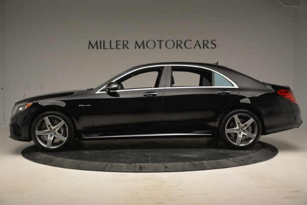 Used 2014 Mercedes Benz S-Class S 63 AMG for sale Sold at Bugatti of Greenwich in Greenwich CT 06830 3