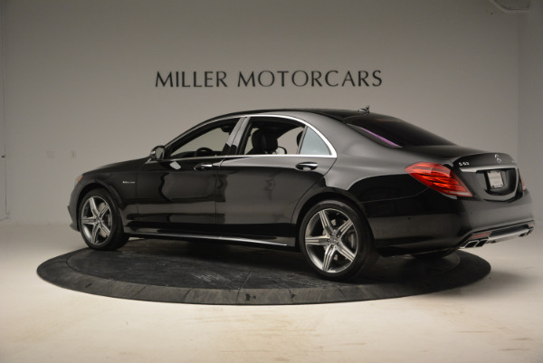 Used 2014 Mercedes Benz S-Class S 63 AMG for sale Sold at Bugatti of Greenwich in Greenwich CT 06830 4