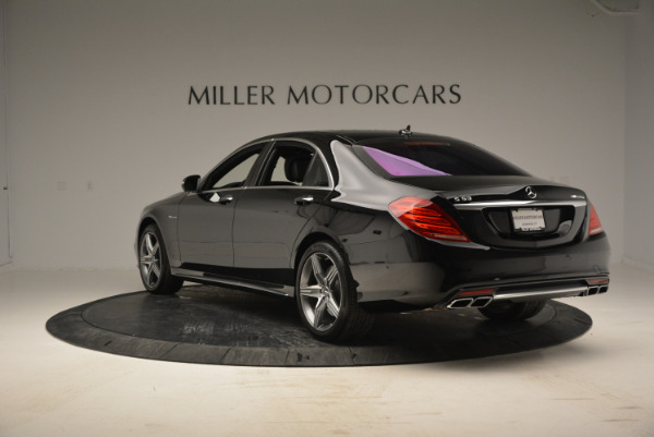 Used 2014 Mercedes Benz S-Class S 63 AMG for sale Sold at Bugatti of Greenwich in Greenwich CT 06830 5