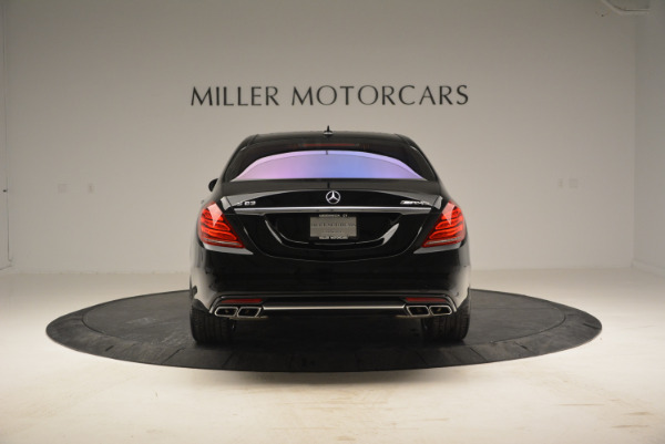 Used 2014 Mercedes Benz S-Class S 63 AMG for sale Sold at Bugatti of Greenwich in Greenwich CT 06830 6