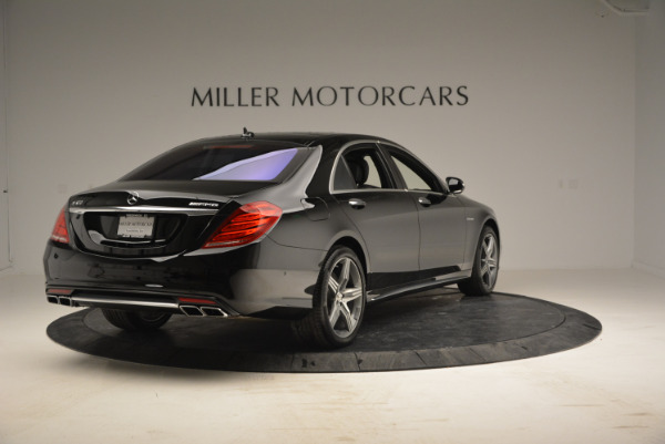Used 2014 Mercedes Benz S-Class S 63 AMG for sale Sold at Bugatti of Greenwich in Greenwich CT 06830 7