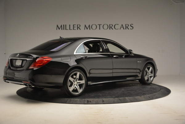 Used 2014 Mercedes Benz S-Class S 63 AMG for sale Sold at Bugatti of Greenwich in Greenwich CT 06830 8