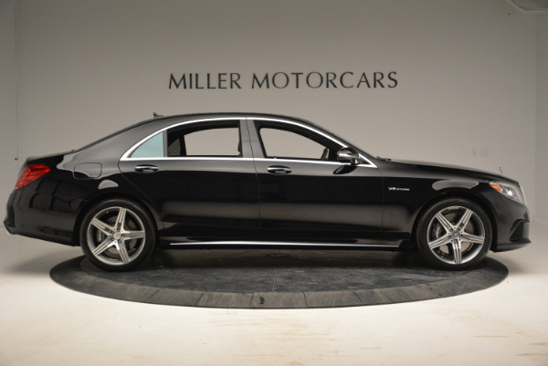 Used 2014 Mercedes Benz S-Class S 63 AMG for sale Sold at Bugatti of Greenwich in Greenwich CT 06830 9