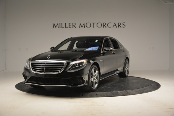 Used 2014 Mercedes Benz S-Class S 63 AMG for sale Sold at Bugatti of Greenwich in Greenwich CT 06830 1