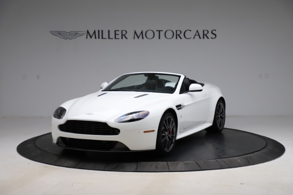 New 2015 Aston Martin Vantage GT GT Roadster for sale Sold at Bugatti of Greenwich in Greenwich CT 06830 12