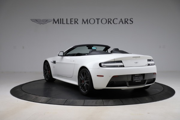 New 2015 Aston Martin Vantage GT GT Roadster for sale Sold at Bugatti of Greenwich in Greenwich CT 06830 4