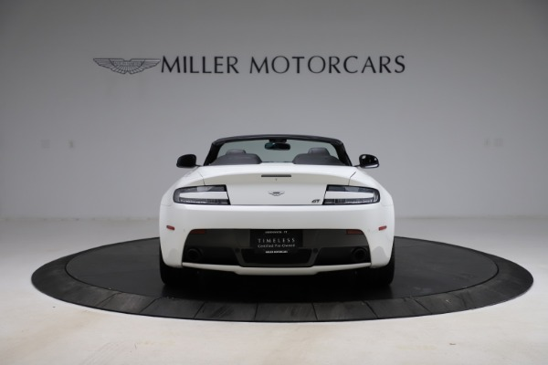 New 2015 Aston Martin Vantage GT GT Roadster for sale Sold at Bugatti of Greenwich in Greenwich CT 06830 5