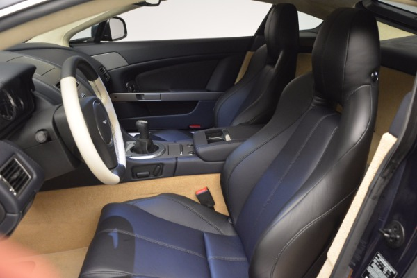 Used 2016 Aston Martin V8 Vantage for sale Sold at Bugatti of Greenwich in Greenwich CT 06830 13