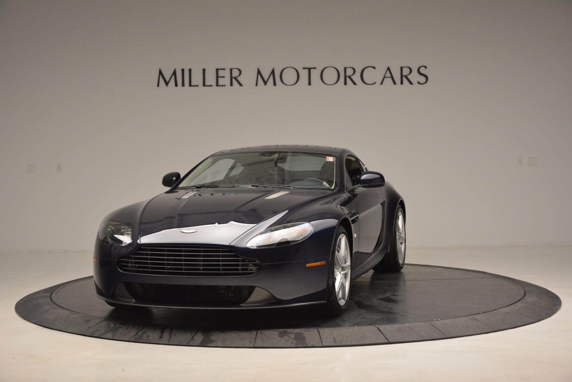 Used 2016 Aston Martin V8 Vantage for sale Sold at Bugatti of Greenwich in Greenwich CT 06830 1
