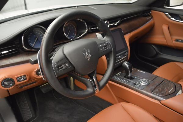 New 2017 Maserati Quattroporte SQ4 for sale Sold at Bugatti of Greenwich in Greenwich CT 06830 15