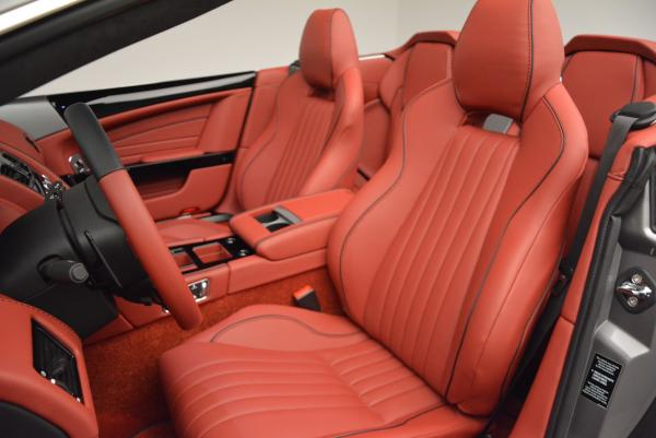 New 2016 Aston Martin DB9 GT Volante for sale Sold at Bugatti of Greenwich in Greenwich CT 06830 21