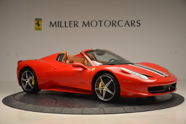 Used 2014 Ferrari 458 Spider for sale Sold at Bugatti of Greenwich in Greenwich CT 06830 10
