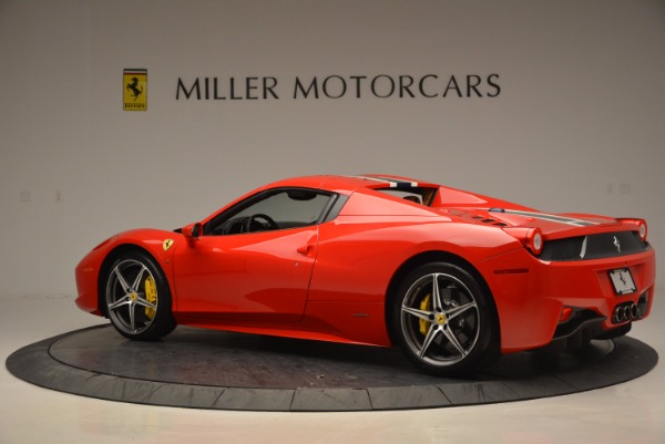 Used 2014 Ferrari 458 Spider for sale Sold at Bugatti of Greenwich in Greenwich CT 06830 16
