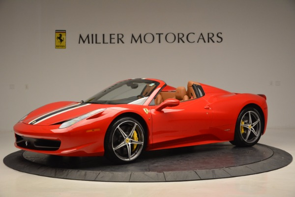 Used 2014 Ferrari 458 Spider for sale Sold at Bugatti of Greenwich in Greenwich CT 06830 2