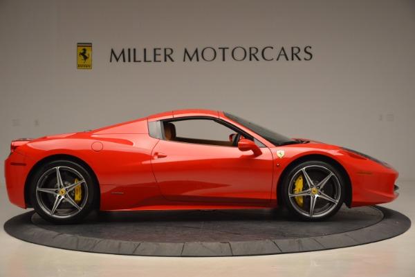 Used 2014 Ferrari 458 Spider for sale Sold at Bugatti of Greenwich in Greenwich CT 06830 21
