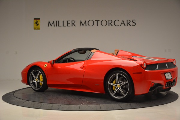 Used 2014 Ferrari 458 Spider for sale Sold at Bugatti of Greenwich in Greenwich CT 06830 4