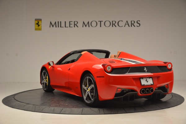 Used 2014 Ferrari 458 Spider for sale Sold at Bugatti of Greenwich in Greenwich CT 06830 5