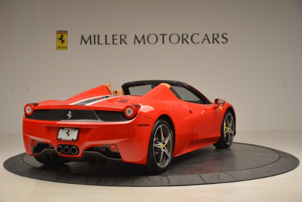 Used 2014 Ferrari 458 Spider for sale Sold at Bugatti of Greenwich in Greenwich CT 06830 7