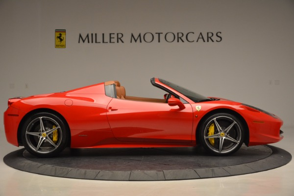 Used 2014 Ferrari 458 Spider for sale Sold at Bugatti of Greenwich in Greenwich CT 06830 9