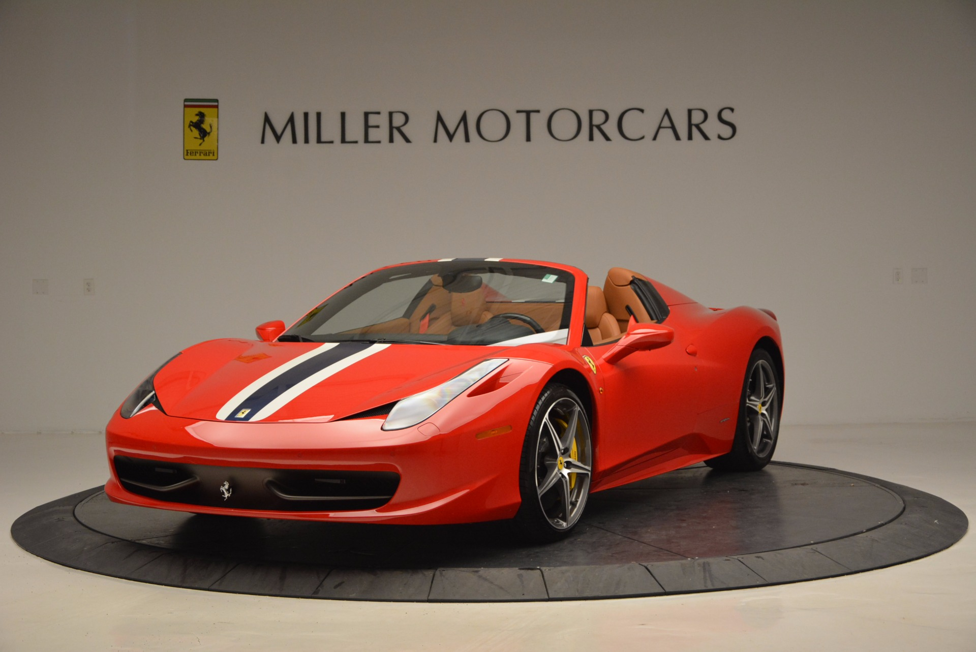 Used 2014 Ferrari 458 Spider for sale Sold at Bugatti of Greenwich in Greenwich CT 06830 1