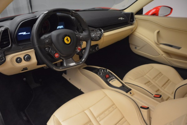 Used 2011 Ferrari 458 Italia for sale Sold at Bugatti of Greenwich in Greenwich CT 06830 13
