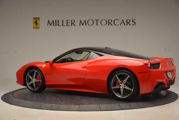Used 2011 Ferrari 458 Italia for sale Sold at Bugatti of Greenwich in Greenwich CT 06830 4
