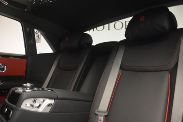 New 2017 Rolls-Royce Ghost Black Badge for sale Sold at Bugatti of Greenwich in Greenwich CT 06830 27