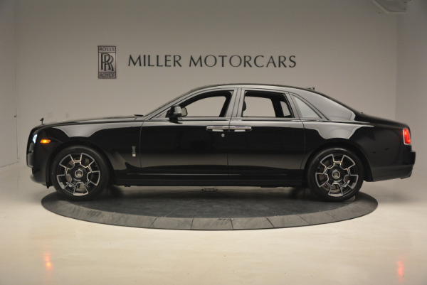 New 2017 Rolls-Royce Ghost Black Badge for sale Sold at Bugatti of Greenwich in Greenwich CT 06830 3