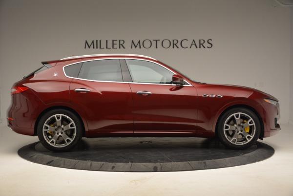 New 2017 Maserati Levante for sale Sold at Bugatti of Greenwich in Greenwich CT 06830 9