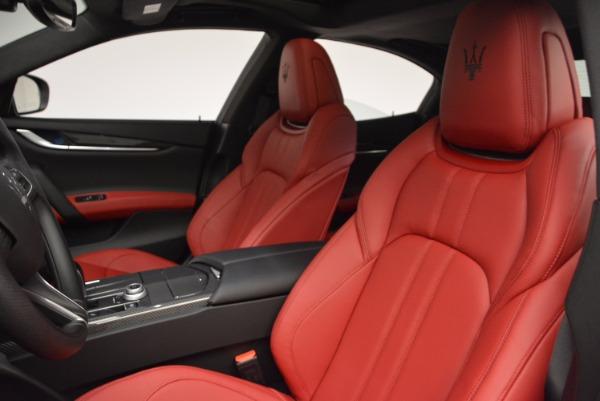 New 2017 Maserati Ghibli SQ4 for sale Sold at Bugatti of Greenwich in Greenwich CT 06830 18