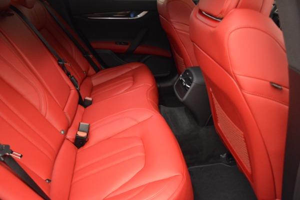 New 2017 Maserati Ghibli SQ4 for sale Sold at Bugatti of Greenwich in Greenwich CT 06830 26