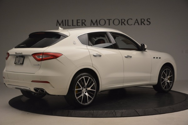 New 2017 Maserati Levante S Q4 for sale Sold at Bugatti of Greenwich in Greenwich CT 06830 8