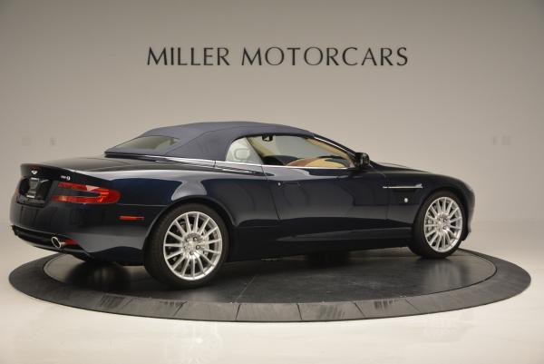 Used 2007 Aston Martin DB9 Volante for sale Sold at Bugatti of Greenwich in Greenwich CT 06830 20
