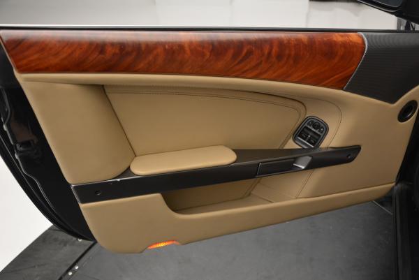 Used 2007 Aston Martin DB9 Volante for sale Sold at Bugatti of Greenwich in Greenwich CT 06830 27