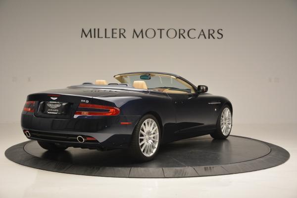 Used 2007 Aston Martin DB9 Volante for sale Sold at Bugatti of Greenwich in Greenwich CT 06830 7