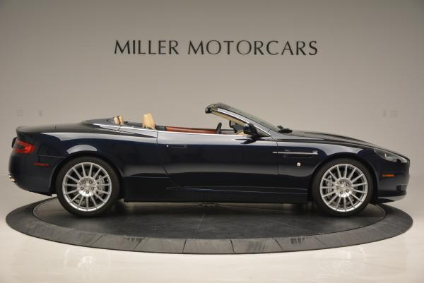 Used 2007 Aston Martin DB9 Volante for sale Sold at Bugatti of Greenwich in Greenwich CT 06830 9