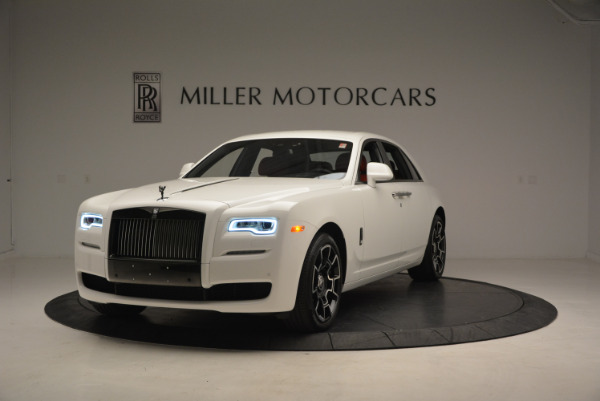 New 2017 Rolls-Royce Ghost Black Badge for sale Sold at Bugatti of Greenwich in Greenwich CT 06830 1
